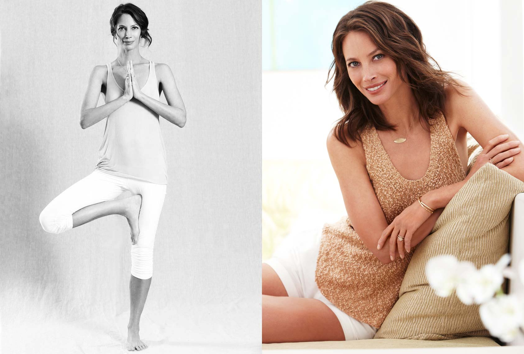 Christy Turlington for Natural Health