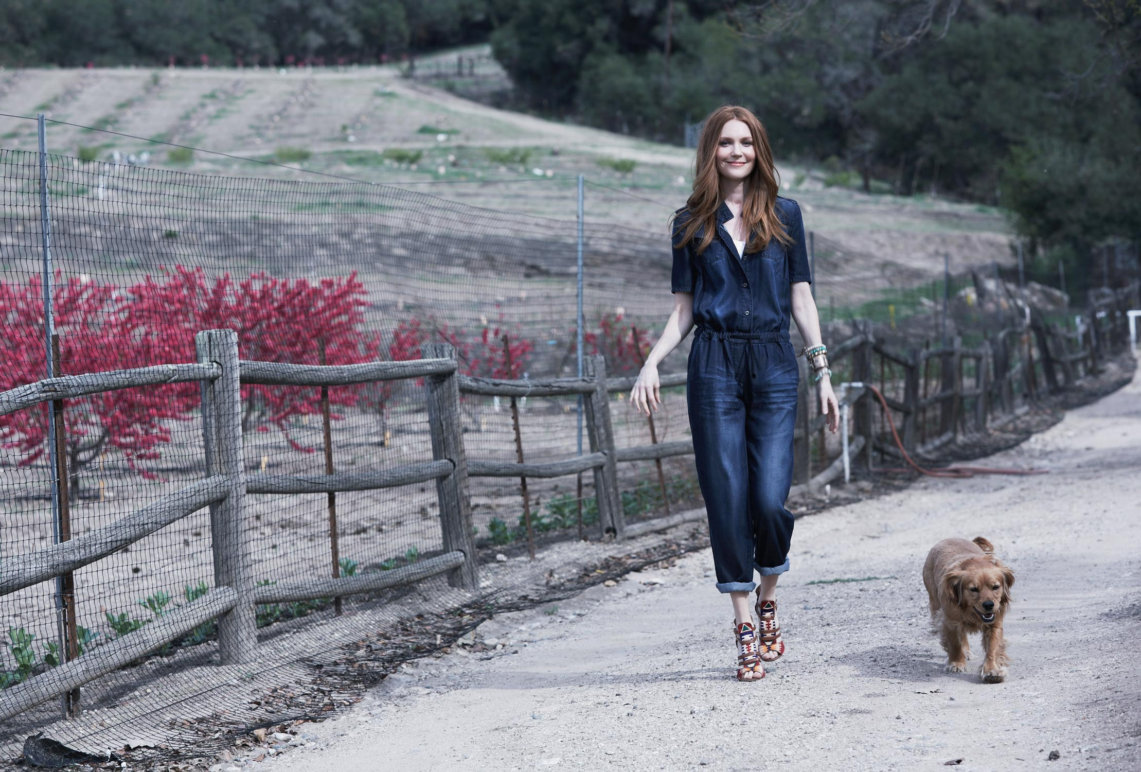 Darby Stanchfield, Ojai, photographed by Grace Huang